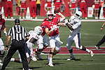 Wisconsin Badgers quarterback Alex Hornibrook (12) throws a pass during an NCAA College Football game against the Florida Atlantic Owls Saturday, September 9, 2017, in Madison, Wis. The Badgers won 31-14. (Photo by David Stluka)
