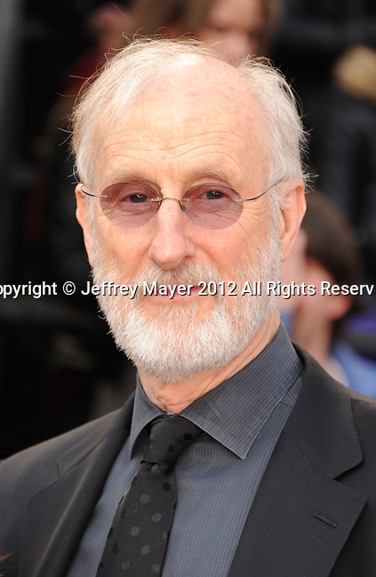 HOLLYWOOD, CA - FEBRUARY 26 - James Cromwell arrives at the 84th Annual Academy Awards held at the Hollywood & Highland Centre on February 26th, 2012 in Hollywood, California.