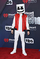 11 March 2018 - Inglewood, California - Marshmellow. 2018 iHeart Radio Awards held at The Forum. <br /> CAP/ADM/BT<br /> &copy;BT/ADM/Capital Pictures