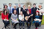 The judges and the staff with the top three of the Killarney Community College Who's Got Talent on Friday front row l-r: Margo Monnier, Fiona O'Brien, Breda and Sean kelliher, Aoishín Collins. Back row: Mary Fuller, Brian O'Reilly, Stella Loughnane, Mike Lynch, Joanna Hughes, Denise O'Sullivan, Daniel O'connor and Siobhain O'Brien