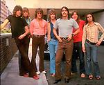 CHICAGO 1971 Robert Lamm. Peter Cetera, James Pankow, Lee Loughnane, Walt Parazaider, Keith Seraphine.