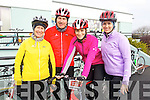 Pictured at the Fenit Coastal Cycle on Saturday were l-r: Trisha Gill (Fenit) Sarah Hunt and Laura Hunt (Tralee).