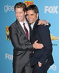 John Stamos & Matthew Morrison. at Fox's Premiere Screening & Party for Glee held at Paramount Studios in Hollywood, California on September 07,2010                                                                   Copyright 2010  Hollywood Press Agency