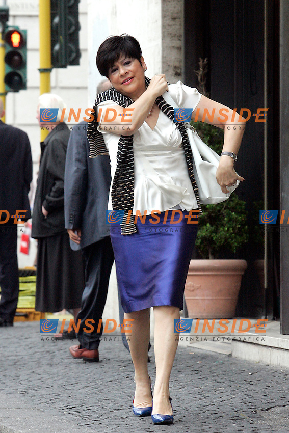VALENTINA APREA.Roma 01/07/2011 Consiglio Nazionale del PDL..Photo Samantha Zucchi Insidefoto