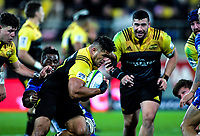 Chris Eves in action during the Super Rugby match between the Hurricanes and Stormers at Westpac Stadium in Wellington, New Zealand on Friday, 5 May 2017. Photo: Mike Moran / lintottphoto.co.nz