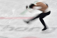 Israel's Alexei Bychenko in action at the men's figure skating singles in the Gangneung Ice Arena at the Winter Olympics in Pyeongchang, South Korea, 9 February 2018. Photo: Peter Kneffel/dpa /MediaPunch ***FOR USA ONLY***
