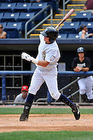 Staten Island Yankees outfielder Benjamin Gamel #24 during a game against the Tri-City  Valley Cats at Richmond County Bank Ballpark at St. George on July 25, 2011 in Staten Island, NY.  Staten Island defeated Tri-City 2-1.  Tomasso DeRosa/Four Seam Images