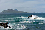 6-5-2013: High waves crash on rocks near The Blasket Islands in County Kerry on Monday..Picture by Don MacMonagle