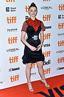 "08 September 2019 - Toronto, Ontario Canada - Thomasin McKenzie. 2019 Toronto International Film Festival - ""Jojo Rabbit"" Premiere held at Princess of Wales Theatre. <br /> CAP/ADM/BPC<br /> ©BPC/ADM/Capital Pictures"