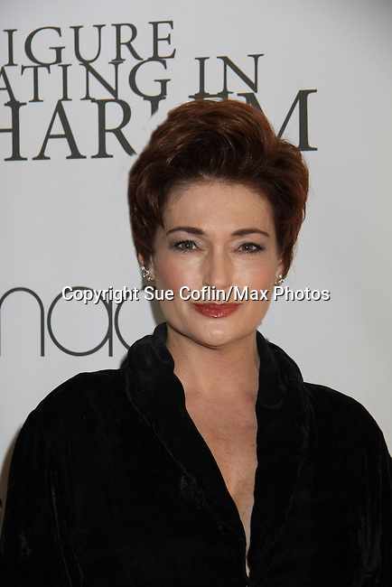 General Hospital Carolyn Hennesy at the Figure Skating in Harlem  - the 2011 Skating with the Stars on April 4, 2011 at Wollman Rink, Central Park, New York City, New York. (Photo by Sue Coflin/Max Photos)