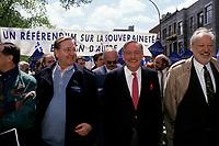 FILE -<br /> Jacques Parizeau<br /> , 22 mai 1992<br /> <br /> <br /> PHOTO  : Pierre Roussel - Agence Quebec Presse