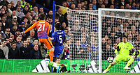 David Silva of Manchester City gets in a shot at goal during the Premier League match between Chelsea and Manchester City at Stamford Bridge on April 5th 2017 in London, England.<br /> Foto PHC Images / Panoramic / Insidefoto <br /> ITALY ONLY