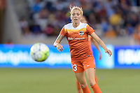Denise O'Sullivan (13) of the Houston Dash chases after a loose ball against the Orlando Pride on Friday, May 20, 2016 at BBVA Compass Stadium in Houston Texas. The Orlando Pride defeated the Houston Dash 1-0.