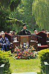 Matthew Spitzer, M.D.,  giving commencement address at Vassar College, May 24, 2009