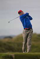 Declan Loftus (NUIM)<br /> during R1 of the East of Ireland Amateur Open championship 2013 at Co Louth Golf club, 1/6/13<br /> Picture:  Thos Caffrey / www.golffile.ie