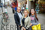 Orla O'SHa Emma and Sarah Jane Donovan Shopping in Tralee Town Centre