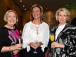 Carmel Schmidt, Christine Regan and Odilla Moynihan pictured at the Women In Sport Lunch at City North Hotel. Photo:Colin Bell/pressphotos.ie