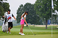 Maria Fassi (MEX) looks over her chip on 11 during round 4 of the KPMG Women's PGA Championship, Hazeltine National, Chaska, Minnesota, USA. 6/23/2019.<br /> Picture: Golffile | Ken Murray<br /> <br /> <br /> All photo usage must carry mandatory copyright credit (© Golffile | Ken Murray)