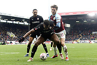 Barnsley's Dimitri Cavare shields the ball from Burnley's Jeff Hendrick<br /> <br /> Photographer Rich Linley/CameraSport<br /> <br /> Emirates FA Cup Third Round - Burnley v Barnsley - Saturday 5th January 2019 - Turf Moor - Burnley<br />  <br /> World Copyright &copy; 2019 CameraSport. All rights reserved. 43 Linden Ave. Countesthorpe. Leicester. England. LE8 5PG - Tel: +44 (0) 116 277 4147 - admin@camerasport.com - www.camerasport.com