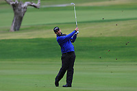 Oliver Farr (WAL) on the 5th fairway during Round 4 of the Challenge Tour Grand Final 2019 at Club de Golf Alcanada, Port d'Alcúdia, Mallorca, Spain on Sunday 10th November 2019.<br /> Picture:  Thos Caffrey / Golffile<br /> <br /> All photo usage must carry mandatory copyright credit (© Golffile | Thos Caffrey)