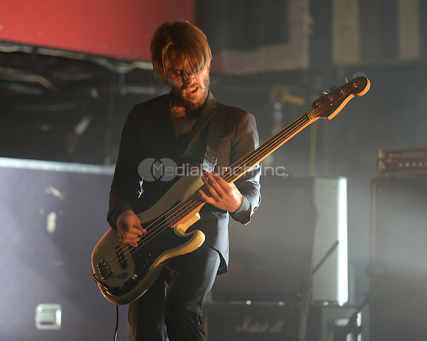 FORT LAUDERDALE FL - JUNE 08: Magnus Flagge of Refused performs at Revolution on June 8, 2016 in Fort Lauderdale, Florida. Credit: mpi04/MediaPunch