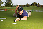 Didier Cuche at the golf course.