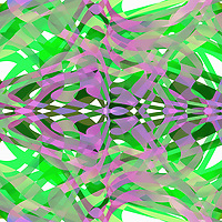 Abstract backgrounds pattern of green and purple squiggles