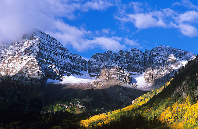 Maroon Bells, Snowmass Wilderness Area, Colorado