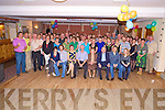 Pat Lyne, Barleymount, Killarney, pictured with family and friends as he celebrated his 60th birthday in Darby O'Gills Killarney on Tuesday night.......