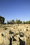 Israel, the Archaeological site in Kibbutz Ramat Rachel