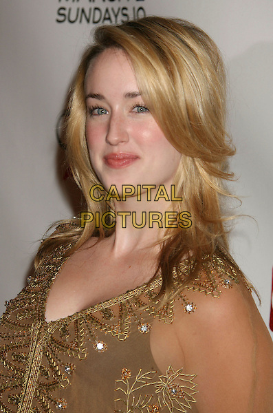 "ASHLEY JOHNSON.""Dirt"" Season Two Premiere Screening held at Arclight Cinemas, Hollywood, California, USA,.28 February 2008..portrait headshot.CAP/ADM/RE.?Russ Elliot/Admedia/Capital PIctures"