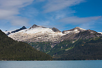 Granite ridges of the Chugach Mountains, western Prince William Sound, Passage, Canal, Chugach National Forest, southcentral, Alaska.