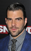 New York,NY-September 13: Zachary Quinto attends the 'Snowden' New York premiere at AMC Loews Lincoln Square on September 13, 2016 in New York City. @John Palmer / Media Punch