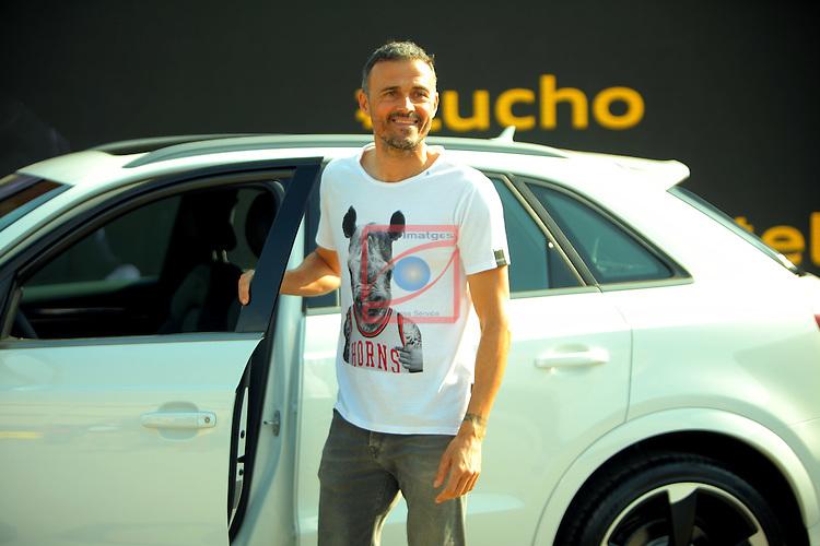 AUDI Premium Partner del FC Barcelona.<br /> Luis Enrique Martinez.