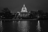 Night Falls Over D.C.