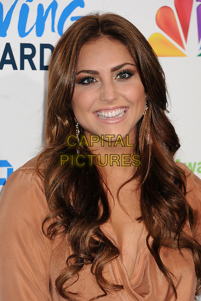 Cassie Scerbo.2nd Annual American Giving Awards held at the Pasadena Civic Auditorium, Pasadena, California, USA..December 7th, 2012.headshot portrait beige  nude smiling     .CAP/ADM/BP.©Byron Purvis/AdMedia/Capital Pictures.