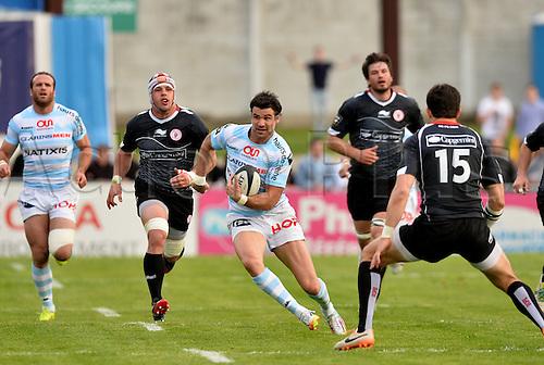 12.04.2014. Paris, France. Top 14 Rugby Union. Racing Metro versus Biarritz.  William Michal Phillips (rm)
