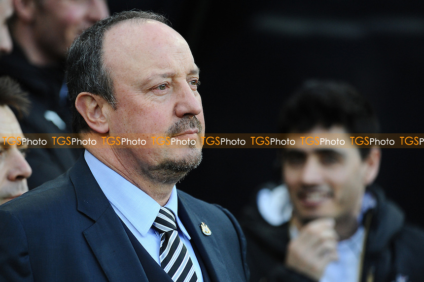 Newcastle United manager Rafa Benítez during Newcastle United vs Derby County, Sky Bet EFL Championship Football at St. James' Park on 4th February 2017