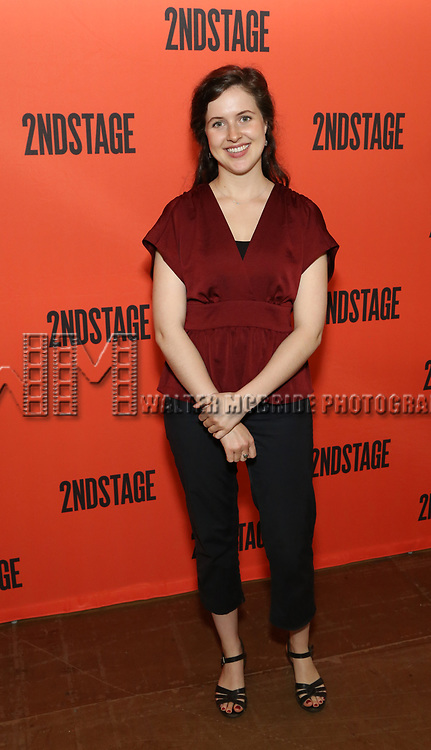 Emma Geer during the photo call for the Second Stage production of 'Mary Page Marlowe' on June 12, 2018 in New York City.