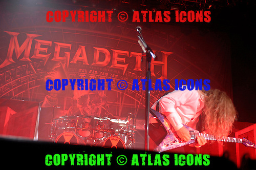 Dave Mustaine: Megadeth;  Live, In New York City, 2011.Photo Credit: Eddie Malluk/Atlas Icons.com