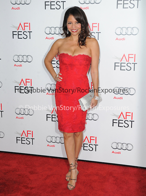 Gloria Reuben at AFI FEST 2012 Closing Night Gala -Steven Spielberg's LINCOLN held at The Grauman's Chinese Theatre in Hollywood, California on November 08,2012                                                                               © 2012 Hollywood Press Agency