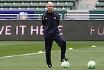 29 March 2009: Los Angeles assistant coach Neil Powell (ENG). Los Angeles Sol defeated the Washington Freedom 2-0 at the Home Depot Center in Carson, California in a regular season Women's Professional Soccer game. The game was the WPS Inaugural game.