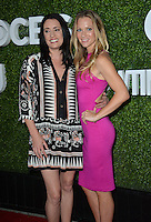 LOS ANGELES, CA. August 10, 2016: Actresses Paget Brewster &amp; A.J. Cook at the CBS &amp; Showtime Annual Summer TCA Party with the Stars at the Pacific Design Centre, West Hollywood. <br /> Picture: Paul Smith / Featureflash