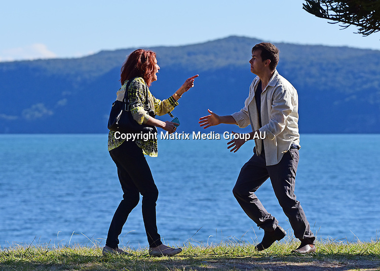 10 August, 2016 <br /> SYDNEY, AUSTRALIA<br /> <br /> EXCLUSIVE PICTURES<br /> Home &amp; Away filming at Palm Beach with  Lynne McGrainger and a stalker that keeps calling her mum!<br /> <br /> *ALL WEB USE MUST BE CLEARED*<br /> <br /> Please contact prior to use:  <br /> <br /> +61 2 9211-1088 or email images@matrixmediagroup.com.au <br /> <br /> Note: All editorial images subject to the following: For editorial use only. Additional clearance required for commercial, wireless, internet or promotional use.Images may not be altered or modified. Matrix Media Group makes no representations or warranties regarding names, trademarks or logos appearing in the images.