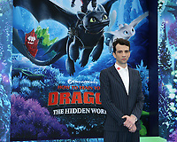 "LOS ANGELES - FEB 9:  Jay Baruchel at the ""How To Train Your Dragon: The Hidden World""  Premiere at the Village Theater on February 9, 2019 in Westwood, CA"