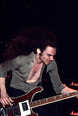 METALLICA<br />  - Cliff Burton - performing live at the Espace Balard in Paris France - 09 Feb 1984.  Photo credit: Bertrand Alary/IconcPix