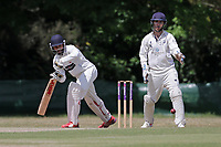 N Jacobs in batting action for Ilford during Ilford CC (batting) vs Billericay CC, Shepherd Neame Essex League Cricket at Valentines Park on 25th May 2019
