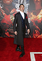 LOS ANGELES, CA - NOVEMBER 13: Ezra Miller, at the Justice League film Premiere on November 13, 2017 at the Dolby Theatre in Los Angeles, California. Credit: Faye Sadou/MediaPunch /NortePhoto.com
