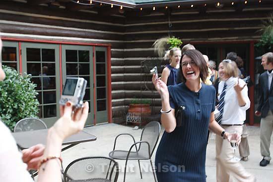 Peter Hansen and Kendra wedding at Log Haven, Millcreek Canyon, September 17, 2008. marcie winther, jenn