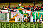 Daniel Collins leads the Kerry team out for their Munster cup clash in the Gaelic Grounds on Sunday